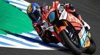 Jorge Navarro consigue su primera Pole en Moto2