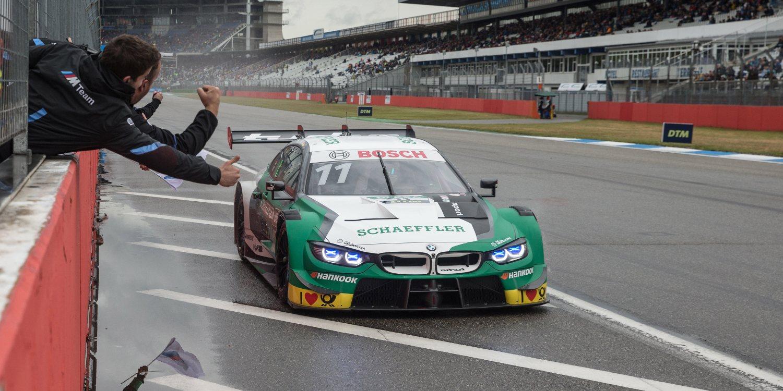Marco Wittmann gana la primera carrera de Hockenheim