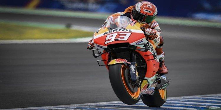 Márquez gana en Jerez y recupera el liderato