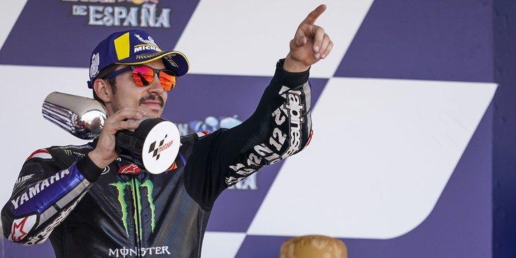 """Maverick Viñales: """"Estar en el podio me parece una victoria"""""""