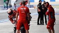 """Andrea Dovizioso: """"En Ducati no hay planes a largo plazo"""""""