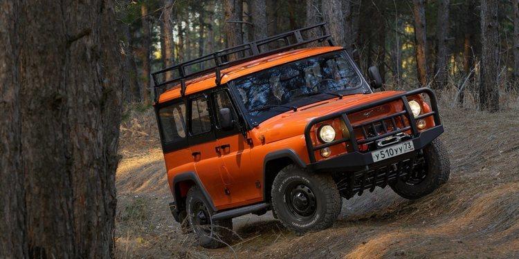 Nuevo UAZ Hunter Expedition con una estética retro