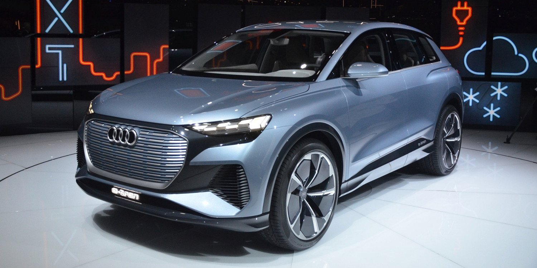 Conoce el eléctrico Q4 e-Tron Concept 2019 de Audi