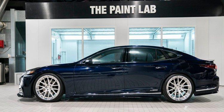 El Lexus LS500h de Artisan Spirits