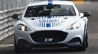 Aston Martin presentó el Rapide E en Mónaco