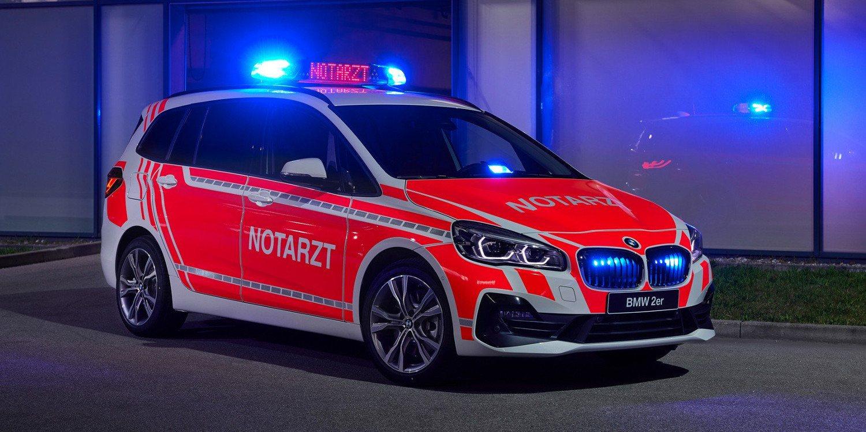 BMW presentó vehículos para la seguridad y emergencias