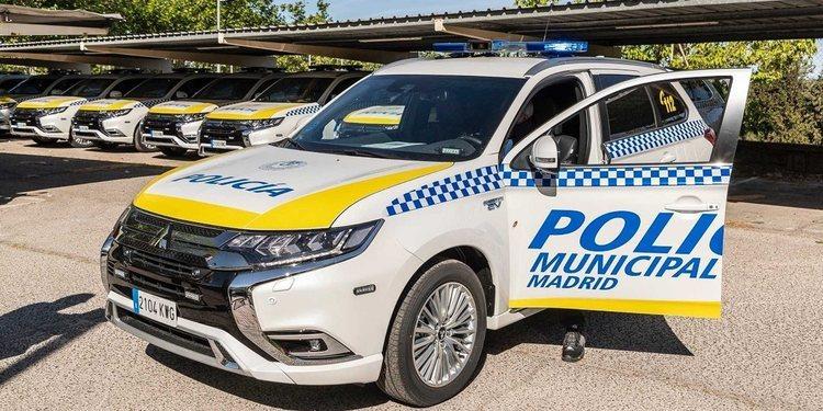 La Policía Municipal de Madrid estrena nuevos vehículos