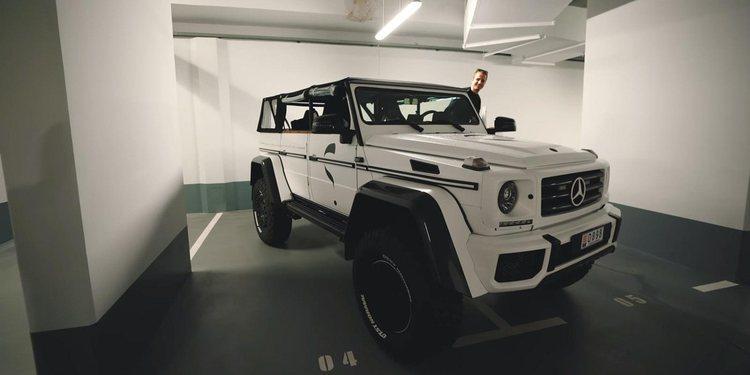 """El Mercedes Benz G500 4X4 """"Lord Hans"""" propiedad de Jon Olsson"""