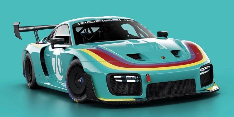 Porsche presenta un 935 muy retro