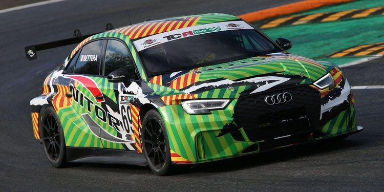 'Pole' para Audi y Enrico Bettera en Misano