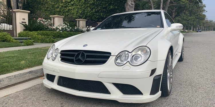 Mercedes-Benz CLK 63 AMG Black