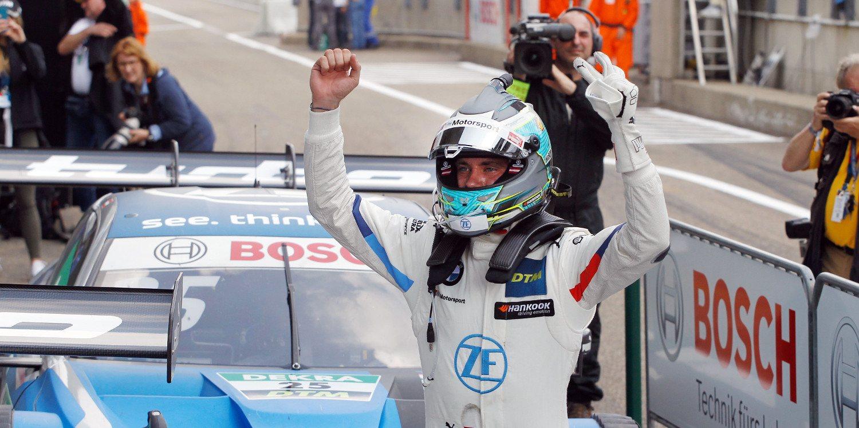 Philipp Eng se lleva la primera carrera de Zolder