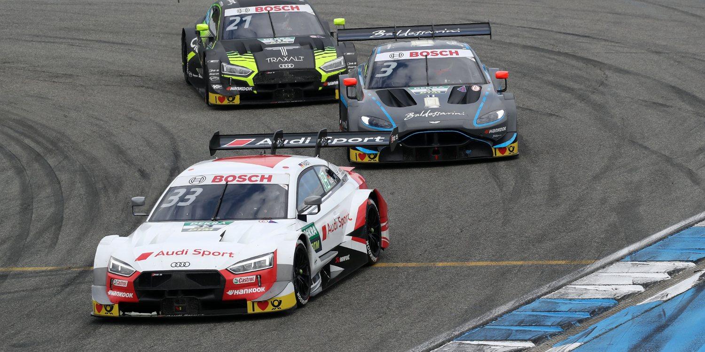René Rast se impone en la segunda carrera de Zolder