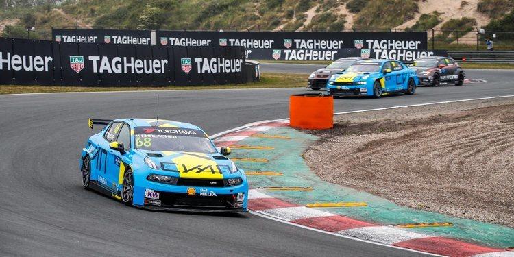 """Yann Ehrlacher: """"Lo importante es el doblete de Cyan Racing"""""""