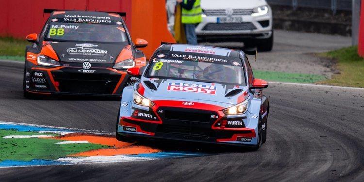 """Luca Engstler: """"El 'Safety Car' me fue muy útil"""""""