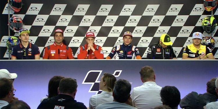 Rueda de prensa: Hablan sus protagonistas del GP de Italia