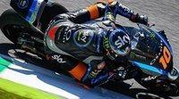 Luca Marini lidera los libres en una jornada histórica para la categoría