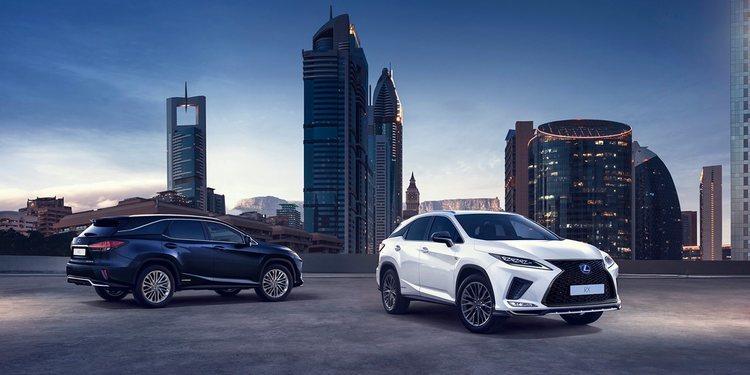 El Lexus RX recibe una puesta al día