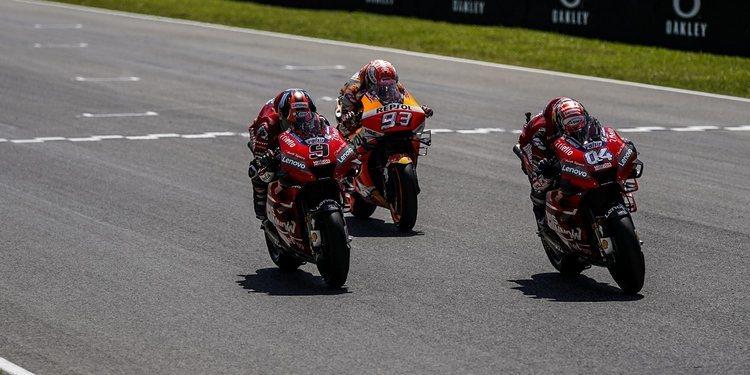"""Andrea Dovizioso: """"No es fácil contrarrestar lo que hace Márquez en cada pista"""""""