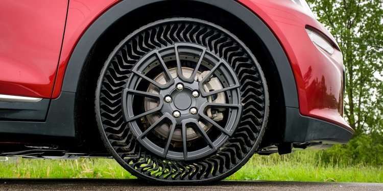 UPTIS, el neumático sin aire de Michelin y GM