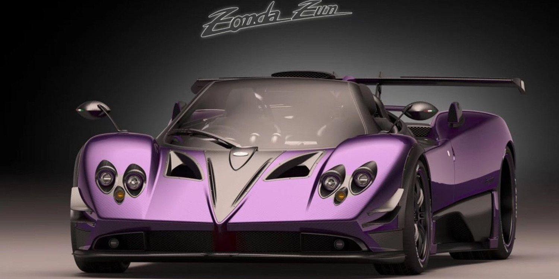 Pagani Roadster Púrpura