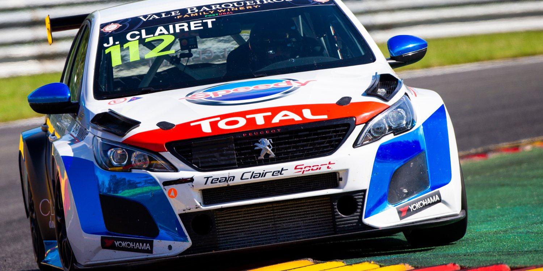 Jimmy Clairet sorprende en los segundos Libres de Spa Francorchamps