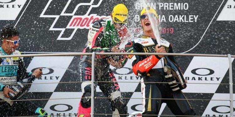 """Tony Arbolino: """"Nuestra moto este año es muy competitiva para ganar"""""""