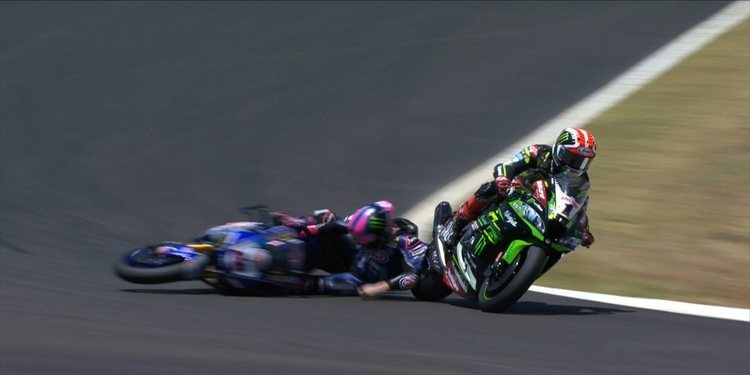 "Alex Lowes resta importancia al incidente con Jonathan Rea: ""Son cosas que pasan"""
