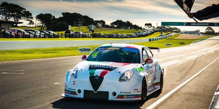 Comodidad para el Alfa Romeo en Phillip Island