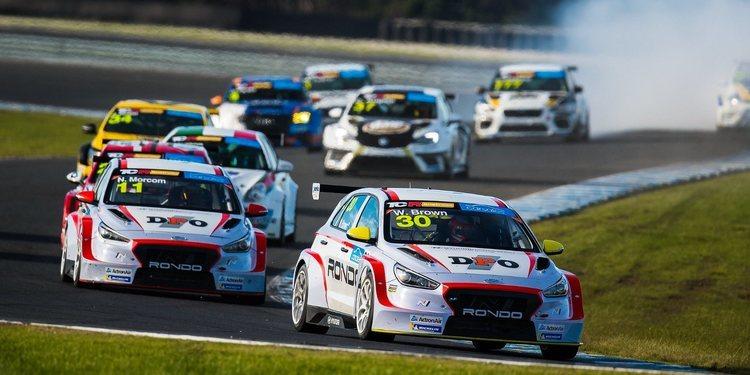 Doblete de Hyundai para cerrar la Ronda en Phillip Island