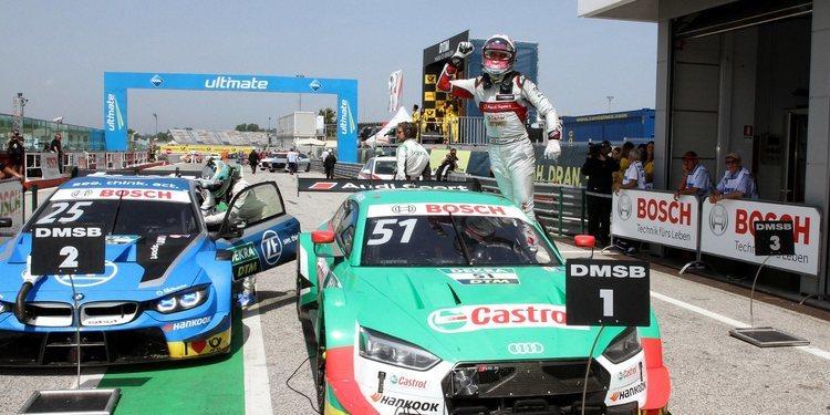 Nico Müller se lleva la segunda carrera de Misano
