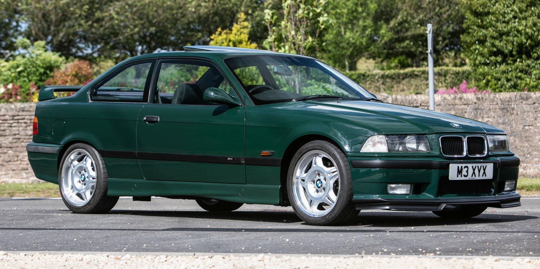 Este BMW M3 GT Individual de 1995 será subastado