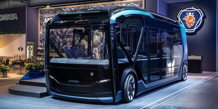 Scania presenta un novedoso y util coche autónomo