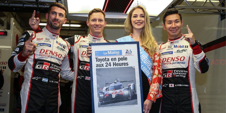 Toyota y Aston Martin con paso firme en Le Mans
