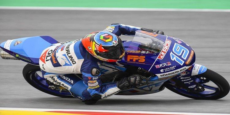 Gabriel Rodrigo, pole en Catalunya con récord incluido
