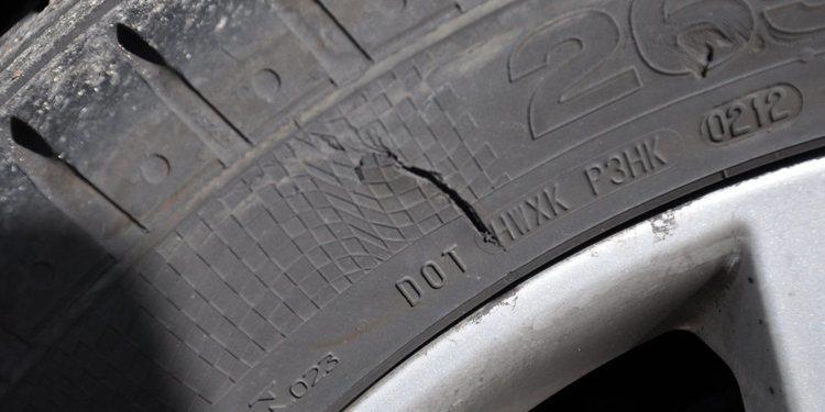 Los neumáticos del coche
