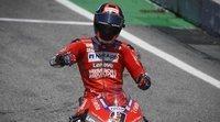 """Danilo Petrucci: """"Sin el accidente de la segunda vuelta, terminar en el podio hubiese sido más difícil"""""""