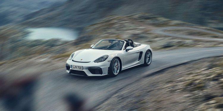 Presentados el 718 Spyder y 718 Cayman GT4 de Porsche