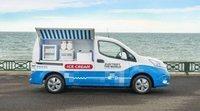 Esta es la furgoneta eléctrica de Nissan fabricada para vender helados