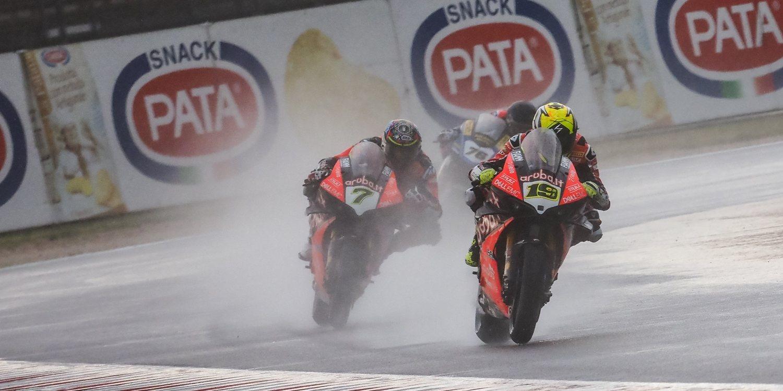 """Álvaro Bautista: """"Al principio no conseguía entender los Pirelli de lluvia"""""""