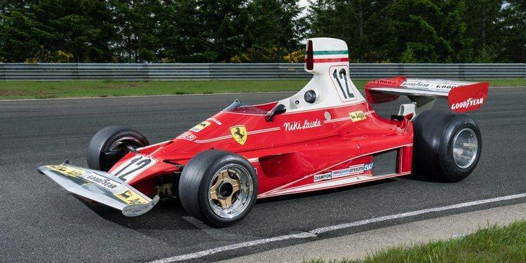 El Ferrari 312T F1 de Niki Lauda ira a subasta