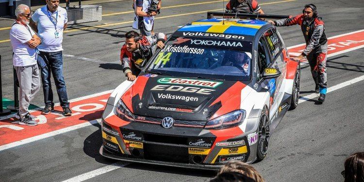 """Johan Kristoffersson: """"Mehdi Bennani me enseñó muchos trucos de Nürburgring"""""""