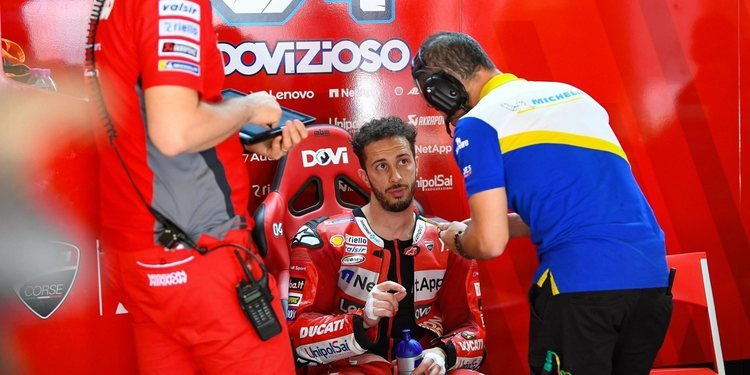"""Andrea Dovizioso: """"Assen no es una pista que nos favorezca"""""""