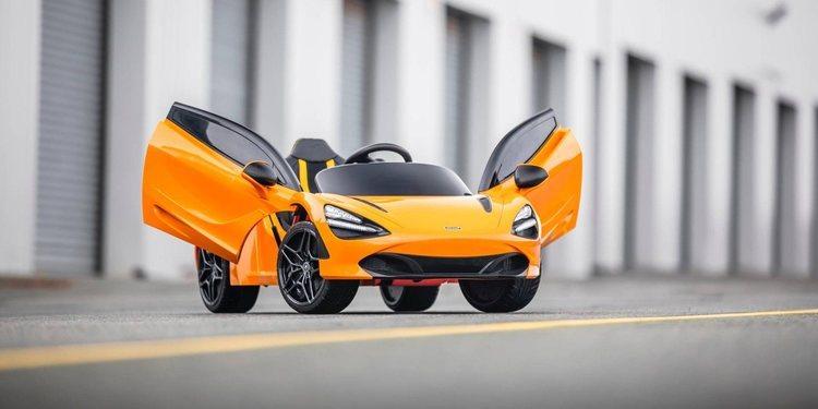 El pequeño McLaren 720S Ride-On