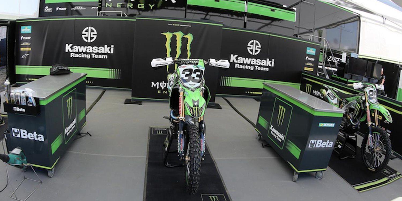 Tommy Searle se une al equipo KRT Kawasaki durante el resto de Mundial de MXGP