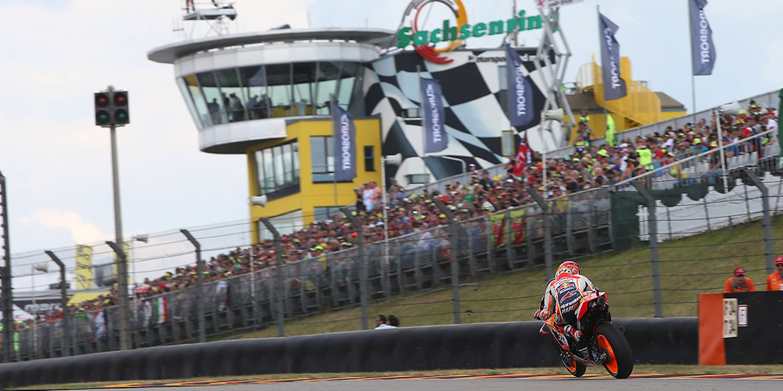 Horarios del Gran Premio de Alemania de MotoGP