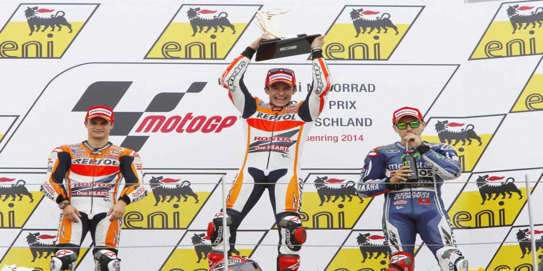 Sachsenring 2014, una histórica victoria de Marc Márquez