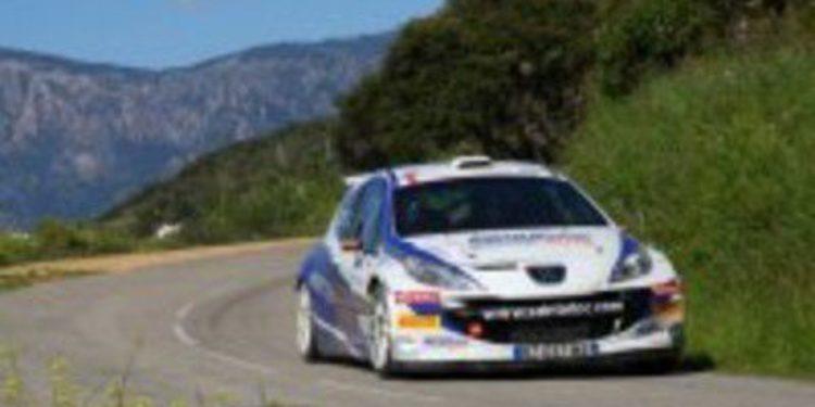 Mathieu Arzeno tendrá en cuatro pruebas en el WRC