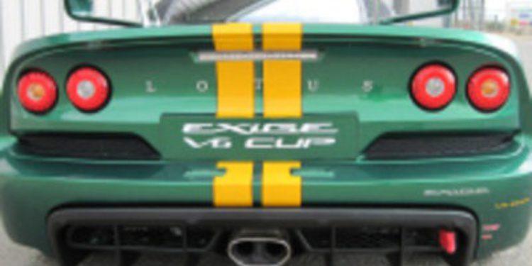 Lotus promete más emoción con su Exige V6 Cup