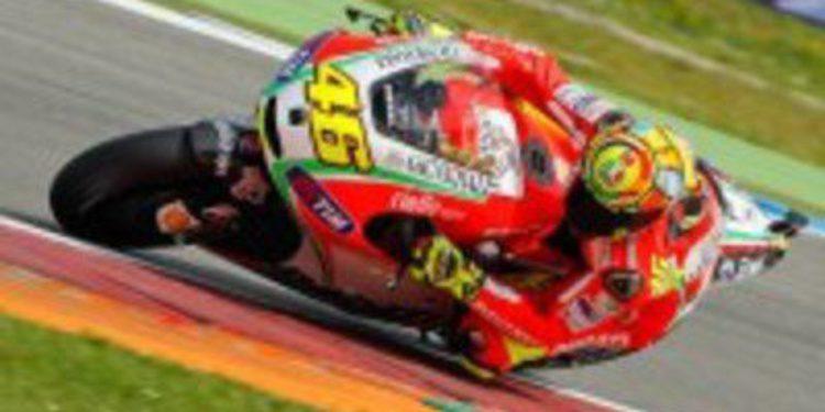 Valentino Rossi será el único piloto Ducati en Brno